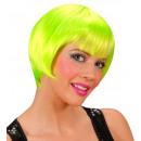 grossiste Jouets: perruque rave vert néon - dans une boîte, taille