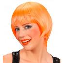 grossiste Jouets: perruque rave orange néon - dans une boîte, tail