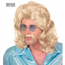 wholesale Toys:  the 70s man wig &  moustache  blond - in box -  fo