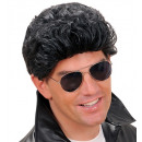 greaser wig black - in box, Hat size: 0 - for m
