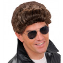 greaser wig brown - in box, Hat size: 0 - for m