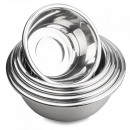 Stainless steel bowl 30 cm