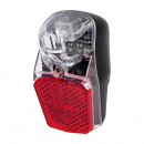 Bicycle Dynamo rear light with parking light, Refl