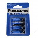 wholesale Batteries & Accumulators: Panasonic Battery  Plus (4) R6 AA AA Blister