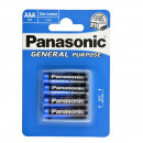 Batteria Panasonic più (4) R3 AAA Blister