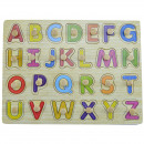 Steckspiel Wooden  Children with letters AZ