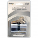 wholesale Ironmongery: Security cylinder 60mm 30/30 with 5 keys