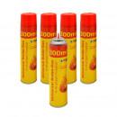 grossiste Briquets: Briquet Butane 300ml de gaz en 12er Display