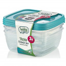Storage Box Set 3 pcs. (3 x 0.9 Liter) - SQ