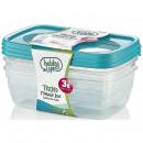 Storage boxes set 3 pcs. (3 x 1.2 liters) - TR