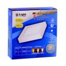 Pannello di superficie LED - 9 Watt - Square (bian