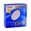 Pannello di superficie LED - 9 Watt - Round (bianc