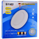 LED pannello di superficie - 24 Watt - Round (bian