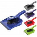 groothandel Reinigingsproducten: Het vegen set met  rubberen lip, diverse kleuren,