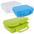 groothandel Kinderservies: Frischhaltedose /  sandwich doos, 6,7x20x16cm, Sort