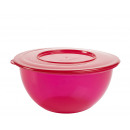 Bowl with lid, 5 liters, Pink