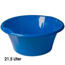 wholesale Houshold & Kitchen: Bowl, 21.5 liters,  d = 50 cm, height 21 cm, Blue