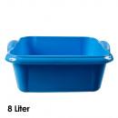 wholesale Houshold & Kitchen: Bowl, 8 liters, 14 x 34 x 28 cm, Blue