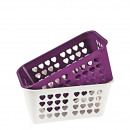 grossiste Maison et cuisine: Basket, 24 x 15,5 x 10,5 cm