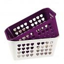 grossiste Organisateurs et stockage: Basket, 24 x 15,5 x 10,5 cm