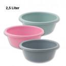 wholesale Houshold & Kitchen: Bowl, 2.5 liter, d  = 24cm, H = 9 cm, Sorted