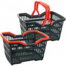 Basket / shopping m. klappb. Henkel, 23x39, 5x28cm