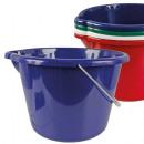 groothandel Huishoudwaren: Bak, 12 liter met  schenktuit, d = 34 cm, H = 23 cm