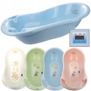 Baby bath with thermometer, 29 x 86 x 46 cm