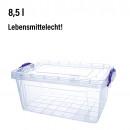 wholesale Houshold & Kitchen: Box with lid &  handles, 8,5 L, 15,5 x 36 x 23c