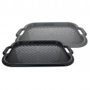 wholesale Houshold & Kitchen: Rectangular tray,  with handle grip, approx 52x36cm