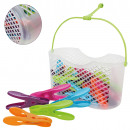 wholesale Organisers & Storage: clothespin in the  basket, 30 pieces, various color