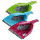 ingrosso Pulizia: Sweeping set con  labbro in gomma, colori assortiti