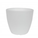 Planter LINEA, d =  20 cm, H = 17 cm, white