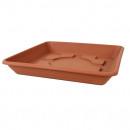 grossiste Linge de table: Coaster LARA, 35 x  35 cm, en terre cuite
