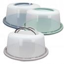 groothandel Bakken: Pie containers met  handgrepen, d = 34 cm, H = 15 c