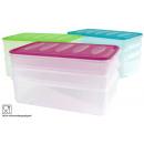 wholesale Houshold & Kitchen: Storage / meats  doses, 4 pcs. 2x1L, 1x2L,