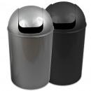 Trash m. Swing lid, 25 L, d = 30cm H = 52cm,