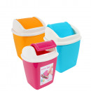 Table Trash Can, 1.1 liter, 17 x 13 x 11.5 cm,