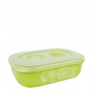 wholesale Houshold & Kitchen: Microwave bowl  with steam valve, 0.9 L, green