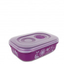 wholesale Houshold & Kitchen: Microwave bowl  with steam valve, 0.9 L, Purple