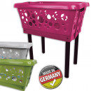 wholesale Laundry: Laundry basket  with legs, 64.5 x 65 x 44 cm,