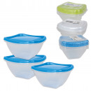 wholesale Houshold & Kitchen: Pantry / food  storage box, set of 3 0.1L, 5,5x8x8c