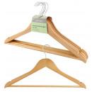 Wooden hanger, set of 5, ca. 22x45x1,2 cm,