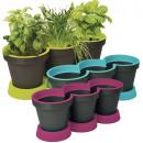 wholesale Plants & Pots: Herb Pot, 2-piece, 15 x 40 x 15 cm,