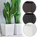 wholesale Garden & DIY store: Planter BALI, 17 x 16,5 x 16,5 cm,