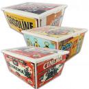 Box RETRO, 16.5 x 39.5 x 29.5 cm, about 15 L,