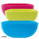 Bowl, 4 liters, square, 11 x 24 x 24 cm