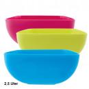 wholesale Houshold & Kitchen: Bowl, 2.5 liters,  square, 9 x 20 x 20 cm