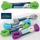 Clothes line 20 m, PVC with steel wire reinforceme