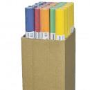 /Tischtuchpapier  Tischdecke, 8m x 1m, farbig sort.,